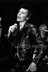 On stage with Sid Vicious & Co.